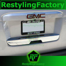 15-16 Cadillac Escalade+ESV Triple Chrome Lower Liftgate Tailgate Handle Cover