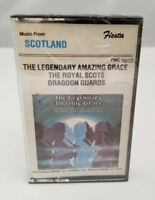 The Royal Scots Dragoon Guards Cassette Tape Legendary Amazing Grace NEW Sealed