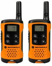 U Motorola TLKR-T41 Walkie Talkie Radio T41 Orange (Pack of 2)