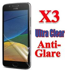 3x Ultra Clear & Anti-Glare Matte Screen Protector Film For Motorola Moto G5 G5S