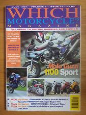 Which Motorcycle Magazine - JULY 1994 - MOTO GUZZI 1100 SPORT - TIGER - R1100GS