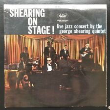 Shearing on Stage original 1959 12 inch vinyl LP Jazz ST1187 Capitol Records