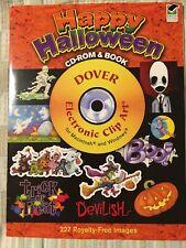 Dover Electronic Clip Art: Happy Halloween (2008, Paperback)