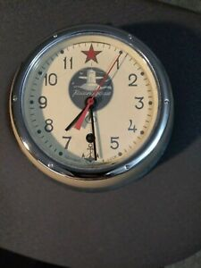 Russian Submarine Clock Authentic Vostok  Paper/Certificate &  Key included