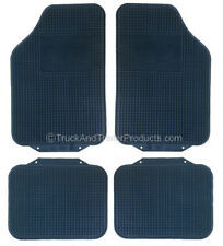 Rubber Floor Mat - Set of 4 - Truck - Van - Car - Heavy Duty