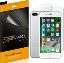 3X Supershieldz Front + Back Anti Glare Matte Screen Protector for iPhone 8 Plus
