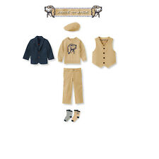 """Janie and Jack Boys """"Countryside Classic"""" Collection 6 Piece Set NWT Size 2T"""