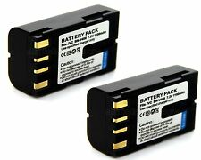 2x 7.2v Battery for BN-V408 JVC GY-HD100 U GY-HD101E GY-HD110 GY-HD110U GY-HD111