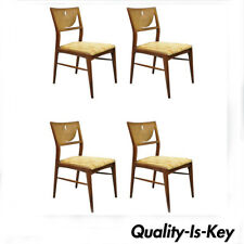 Groovy Walnut Dining Chairs Mid Century Modern Antique Chairs For Theyellowbook Wood Chair Design Ideas Theyellowbookinfo