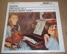Kempff CHOPIN Piano Music Vol.2 - London STS 15039 SEALED