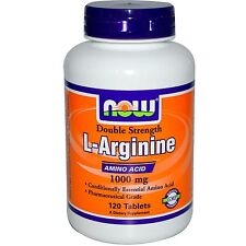 Now Foods, L-Arginine, 1000 mg, 120 Comprimés