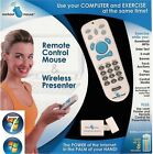 RF Wireless Windows Media Remote Control Mouse Laser Pointer Cordless Presenter