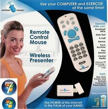RF Wireless Windows Media Remote Control Mouse Laser Pointer Cordless Presenter