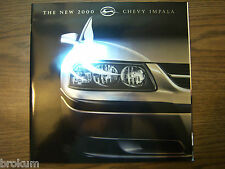 MINT CHEVROLET 2000 CHEVY IMPALA 43 PAGE SALES BROCHURE NEW #783