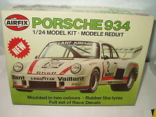 AIRFIX PORSCHE 934 COMPLETE MODEL KIT 1:24 SCALE 1979 ENGLAND MIB #6408-8