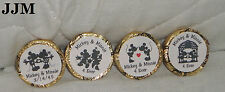 100 CUSTOM MADE MICKEY & MINNIE MOUSE WEDDING/ENGAGEMENT/ANNIVERSARY KISS LABELS