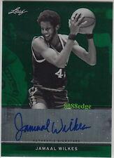 2012-13 LEAF METAL AUTO: JAMAAL WILKES #3/10 AUTOGRAPH NCAA/NBA CHAMPION LAKERS