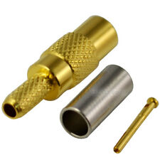 MCX Female Jack Crimp for RG316 RG179 RG174 Cable RF Coaxial Connector Adapter
