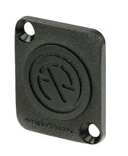 Neutrik Dummy plate for D-series to cover D-connector cutouts