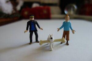 Moulinsart - Official Tintin FIGURINES - Tintin, Haddock, Snowy - Herge Museum