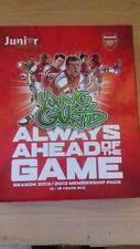 Arsenal Junior artilleros membresía Caja Con Cartel, Pegatinas temporada 2012/13
