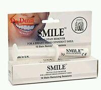 DR. DENTI Smile Stain Remover - Dental Bright White Teeth Smoking Coffee Wine