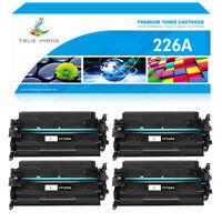 4 Black Toner Compatible for HP 26A CF226A LaserJet Pro MFP M426fdw M402d M402dn