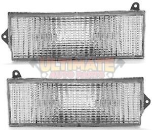 Turn Signal Light Lamps Pair Right Left for Jeep 84-96 Cherokee XJ 86-92 Comanch