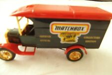 Matchbox Collectors Guild 2Nd Annual 1926 Ford Tt Van Models Of Yesteryear Ed