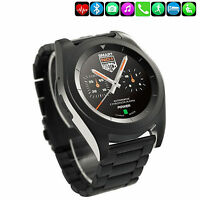 Black Bluetooth Smart Watch Phone Mate For IOS iPhone 7 6 5S LG G4 G3 K8 K10 HTC