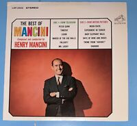 LP RECORD - HENRY MANCINI - THE BEST OF MANCINI - RCA VICTOR