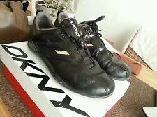 Sneakers femme cuir noir US 8 / 39 DKNY