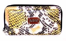 Kenneth Cole Women URBAN ORGANIZER Faux Python Leather Ladies WALLET Yellow 732x