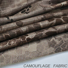 "Nomad Camouflage Camo Net Cover Army Military 60""W Mesh Fabric Cloth"