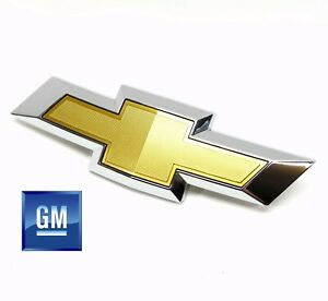 14-17 Chevy SS Front Grill Gold W/ Chrome Outer Bowtie Emblem NEW GM 92252462