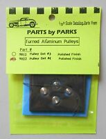 ALUMINUM PULLEY SET 1:24 1:25 PART BY PARKS CAR MODEL ACCESSORY 9022