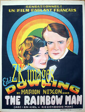 RAINBOW MAN Arc en Ciel Dowling Nixon Movie Poster Affiche 1929