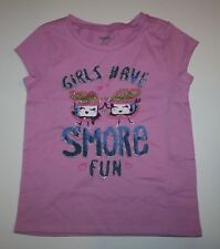New Gymboree Girls Have S'more Fun Top Tee L 10 12 year NWT Mix N Match Line