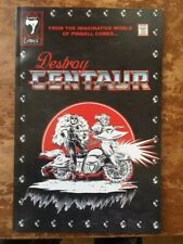 Destroy Centaur - Pinball Comic book - Signed by author! - Nm (2019)