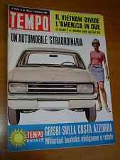 TEMPO 1966/36=OPEL REKORD=GIULIO ANDREOTTI=TREVIGLIO=STANLEY GIBBONS=PAVONE RITA