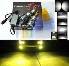 LED Kit C 80W H7 3000K Yellow Two Bulbs Head Light High Beam Replacement Lamp OE