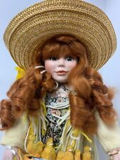 "1992 MARIE OSMOND 18"" PORCELAIN DOLL"