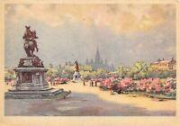 Rare Vintage Art Postcard Vienna, Wien, Heldenplatz, Austria by Karl Schwetz 54P