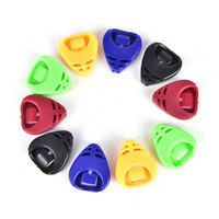 5pcs Plactic Guitar Pick-Case médiator Holder Box acoustique en forme de coeurIT