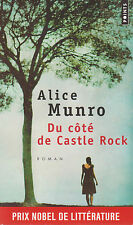 DU COTE DE CASTLE ROCK Alice MUNRO roman LIVRE