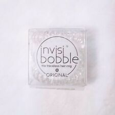 BNIB Invisibobble Traceless Hair Rings Clear Original 3-Pack We Combine Shipping