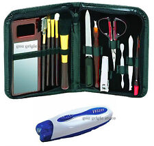 SET WIZZIT EPILATOR WITH SET MANICURE AND PENCIL CASE FOR TRAVEL - UNISEX (07)