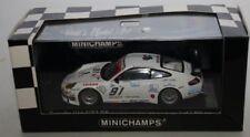 Voitures, camions et fourgons miniatures GT en métal blanc pour Porsche