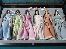 THOMAS PACCONI CLASSICS CHRISTMAS ORNAMENTS 1900-2000 Victorian LADIES ORIGINAL
