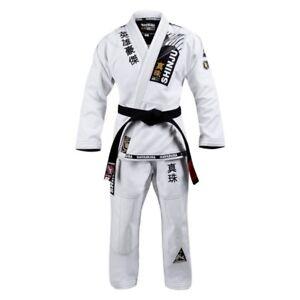 Hayabusa Shinju 3 Pearl Weave BJJ Jiu-jitsu Uniform Jiujitsu GI Brazilian White
